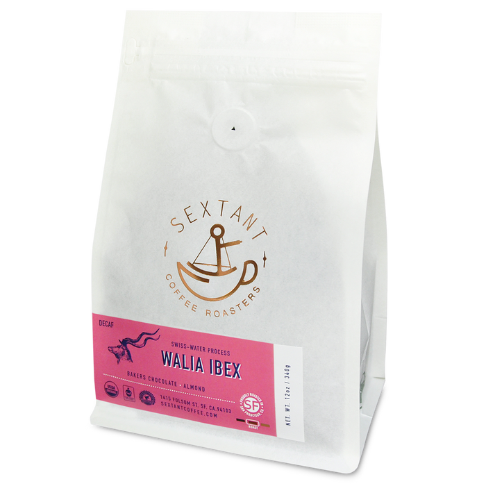 Walia Ibex - Organic Decaf Coffee