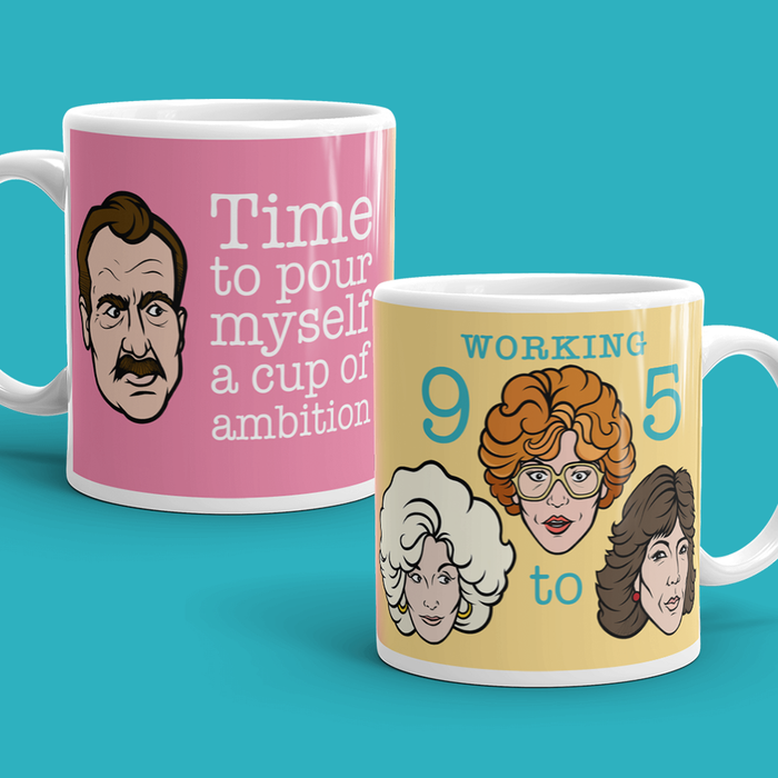 Working 9 to 5 Mug