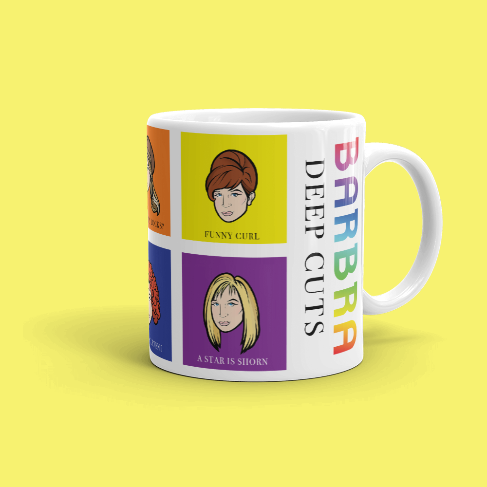 Barbra: Deep Cuts Mug