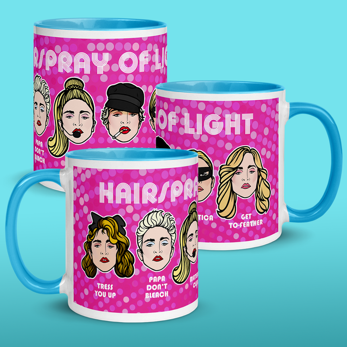 Hairspray of Light Mug