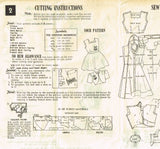 Fabric Requirements and Notions for Mail Order 1902