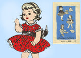 Anne Adams 4795: 1950s Uncut 14 Inch Doll Clothes Set Vintage Sewing Pattern