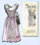1940s Vintage Mail Order Sewing Pattern 8081 Uncut Misses Party Dress Sz 14 32B - Vintage4me2