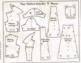 1950s Vintage Mail Order Sewing Pattern 8113 Misses Casual Day Dress Size 38 B