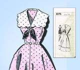 1950s Vintage Mail Order Sewing Pattern 8175 Uncut Misses Sailor Dress Sz 34 B