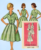 1960s Vintage Mail Order Sewing Pattern 9279 Official 4-H Uniform Dress Sz 34 B - Vintage4me2