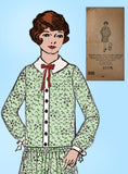 Mail Order 938: Vintage Mail Order Sewing Pattern Girls Flapper Dress Size 12