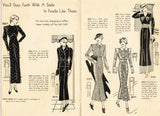 1930s Gazette & Daily Beauty Mail Order Sewing Pattern Catalog Digital Download