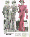 1930s Vintage Butterick Pattern Book Summer 1934 Catalog 50 Pages Gowns Dresses - Vintage4me2