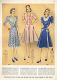 Hollywood 1997: 1940s Misses WWII Princess Dress Sz 30 B Vintage Sewing Pattern - Vintage4me2
