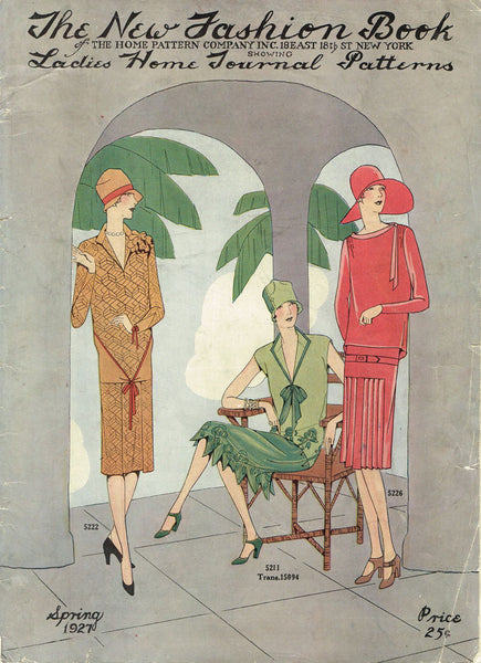Double Digital Download Spring 1926 and 1927 Ladies Home Journal New Fashions Book 69 Pg Ebook
