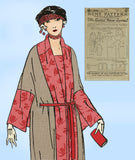 Ladies Home Journal 3348: 1920s Rare Uncut Misses Coat Sz 36 B Sewing Pattern