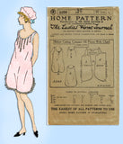 Ladies Home Journal 3399: 1920s Uncut Combination Undies Sz 36 B Sewing Pattern