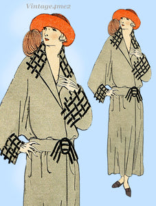 Ladies Home Journal 3638: 1920s Uncut Misses Coat 34-36B Vintage Sewing Pattern
