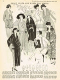 Ladies Home Journal 3676: 1920s Rare Uncut Coat Size 34 B Vintage Sewing Pattern