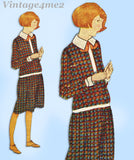 Ladies Home Journal 3685: 1920s Uncut Little Girls Dress Sz 12 Vintage Sewing Pattern