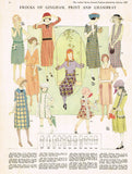 Ladies Home Journal 3723: 1920s Uncut Girls Dress Size 12 Vintage Sewing Pattern
