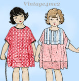 Ladies Home Journal 3813: 1920s Toddler Girls Dress Sz 6 Vintage Sewing Pattern
