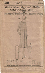 1920s VTG Ladies Home Journal Sewing Pattern 4842 Uncut Misses Flapper Dress 34B