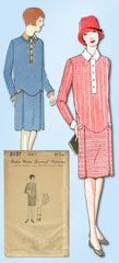 1920s Vintage Ladies Home Journal Sewing Pattern 5137 FF Girls Flapper Dress 14