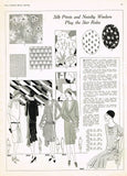 1920s VTG Ladies Home Journal Sewing Pattern 5942 FF Flapper Cocktail Dress 38 B