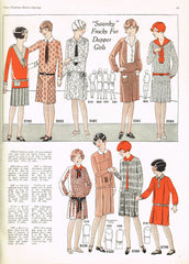 1920s VTG Ladies Home Journal Sewing Pattern 5793 Uncut Girls Jumper Dress Sz 8