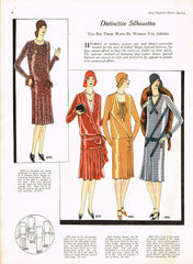 1920s VTG Ladies Home Journal Sewing Pattern 6060 FF Plus Size Flapper Dress 40B