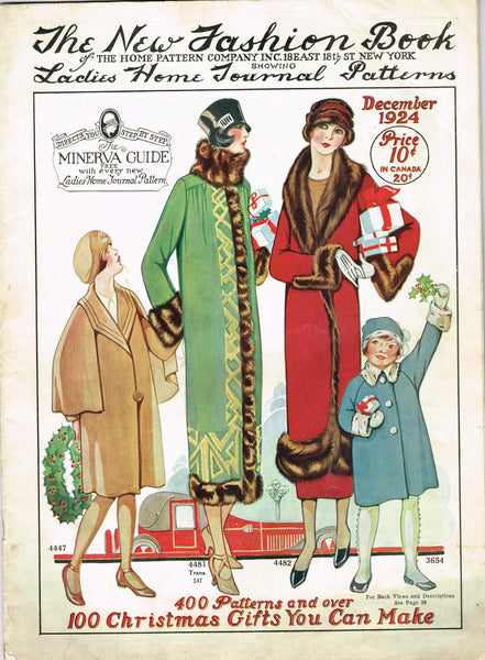 Digital Download 1924 Ladies Home Journal New Fashions Book 43 pg Ebook