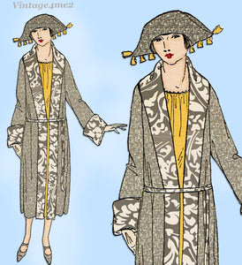 Ladies Home Journal 3401: 1920s Uncut Misses Coat Sz 40 B Vintage Sewing Pattern