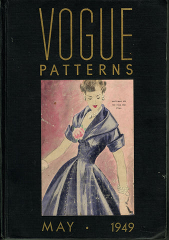1940s Vintage Vogue Counter Catalog 100s of Pgs Color Pattern Pictures Rare Nice