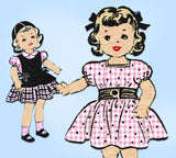 Anne Adams 4576: 1950s Cute 14 Inch Doll Clothes Set Vintage Sewing Pattern