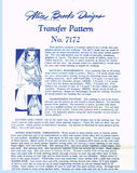 1940s Vintage Alice Brooks Transfer Pattern 7172 Uncut Doll & Wedding Dress ORIG