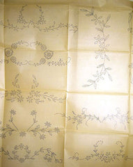 1920s Betty Burton Redwork Pillowcases Uncut Hot Iron Embroidery Transfer 1581 - Vintage4me2
