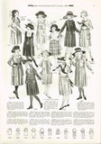 1920s Vintage Butterick Sewing Pattern 1648 Toddler Girls Edwardian Dress Size 5