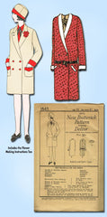 1920s Antique Butterick Sewing Pattern 1843 Uncut Girls Flapper Coat Size 10 - Vintage4me2
