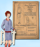 1920s Vintage Butterick Sewing Pattern 2163 Uncut Girls Flapper Dress Size 14 - Vintage4me2