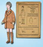 1920s Vintage Butterick Sewing Pattern 2177 Uncut Baby Boys Raglan Coat Size 2