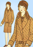 Butterick 2224: 1920s Uncut Junior Girls Flapper Coat Size 14 Vintage Sewing Pattern - Vintage4me2