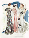 1930s Vintage Butterick Delineator Patterns & Womens Magazine July 1935 -  Vintage4me2