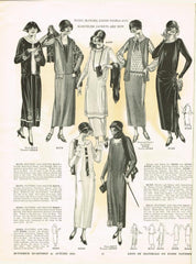 1920s Butterick Autumn 1924 Quarterly Sewing Pattern Catalog 84 pgs Instant Download