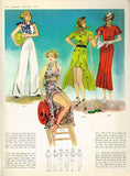 1930s Vintage Butterick Pattern Book Summer 1936 Catalog 52 Pages Gowns Dresses - Vintage4me2