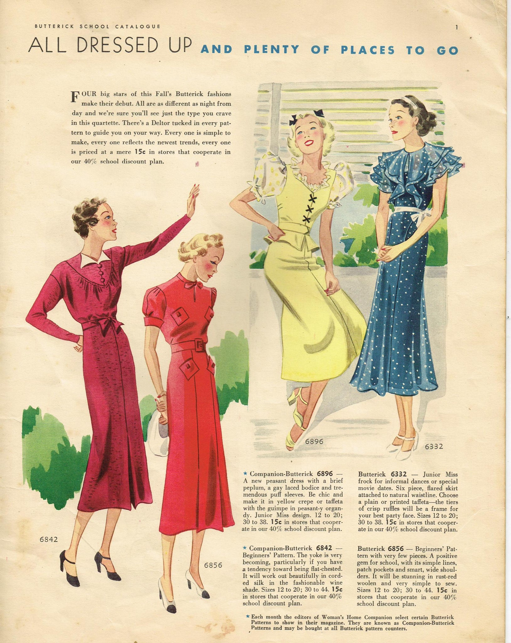 Vintage4me2 Sewing Patterns
