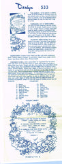 1940s Vintage Design Embroidery Transfer 533 Uncut Now I Lay Me Prayer Sampler