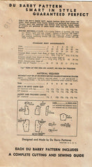 1940s Vintage Du Barry Sewing Pattern 5456 WWII Toddler Boys & Girls Snow Suit 4