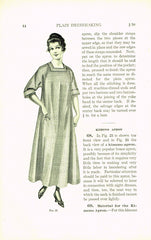 1910s Mary Brooks Picken Woman's Institute Sewing Book 201 Plain Dressmaking
