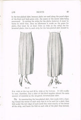1920s Mary Brooks Picken Woman's Institute Sewing Book 204 Skirts 1922 Edition - Vintage4me2