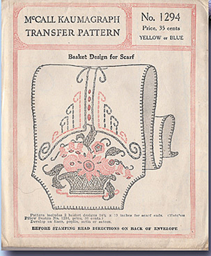 1994 Basket Boutique Uncut and Factory Folded McCall/'s 14213