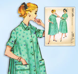 1950s Vintage McCall's Sewing Pattern 4500 Uncut Misses Robe or Duster Size 36 B