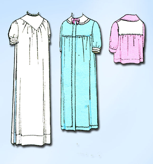 1910s Vintage McCall Sewing Pattern 4950 Uncut Infants Christening Dress Layette - Vintage4me2