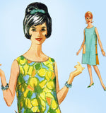 1960s Vintage McCall's Sewing Pattern 6361 Misses Easy Sun Dress Sz 38 40 Bust - Vintage4me2